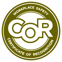 Certificate of Recognition (COR) program logo